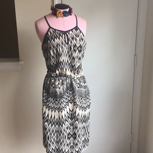 Fun Black and White patterned dress